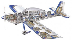 RV-8 Cutaway Image